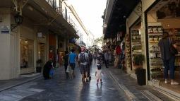 Atina sokaklari