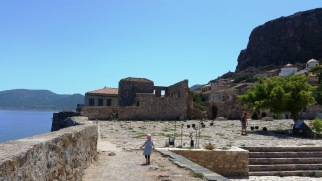 Monemvasia kale içi